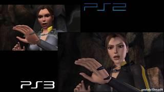 Tomb Raider Underworld - PS2 vs PS3 Comparison