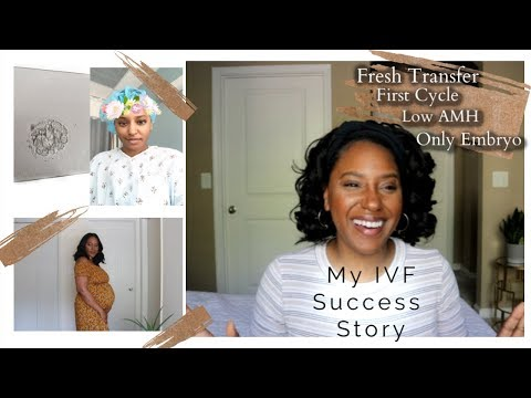IVF Success Story Fresh Cycle +First Round+ One Embryo