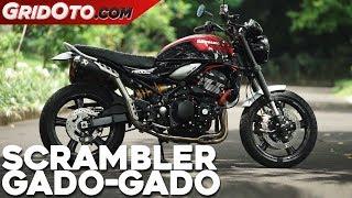 Kawasaki Z900RS Jadi Scrambler dan Pakai Pelek Karbon | Modifikasi Motor | GridOto