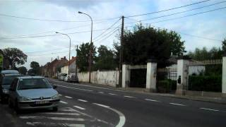 Driving from SHAPE to Chievres Air Base, Belgium