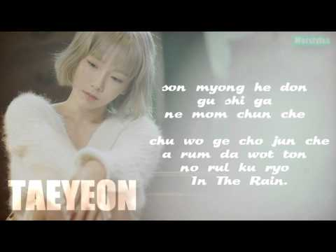 TAEYEON (태연) - Rain (태연) [Easy-Lyrics]