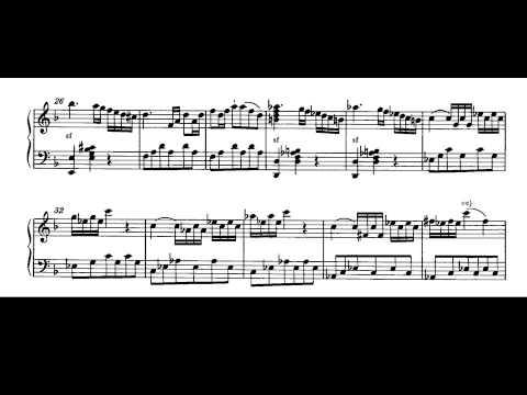 Mozart. Sonata para piano nº 12 en Fa M. Kv 332 I-Allegro Partitura y Audición