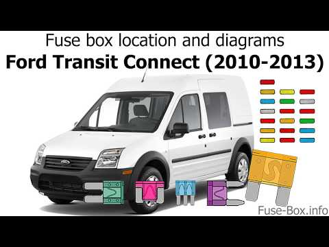 [SCHEMATICS_4UK]  Fuse box location and diagrams: Ford Transit Connect (2010-2013) - YouTube | Ford Transit Van Fuse Box Diagram |  | YouTube