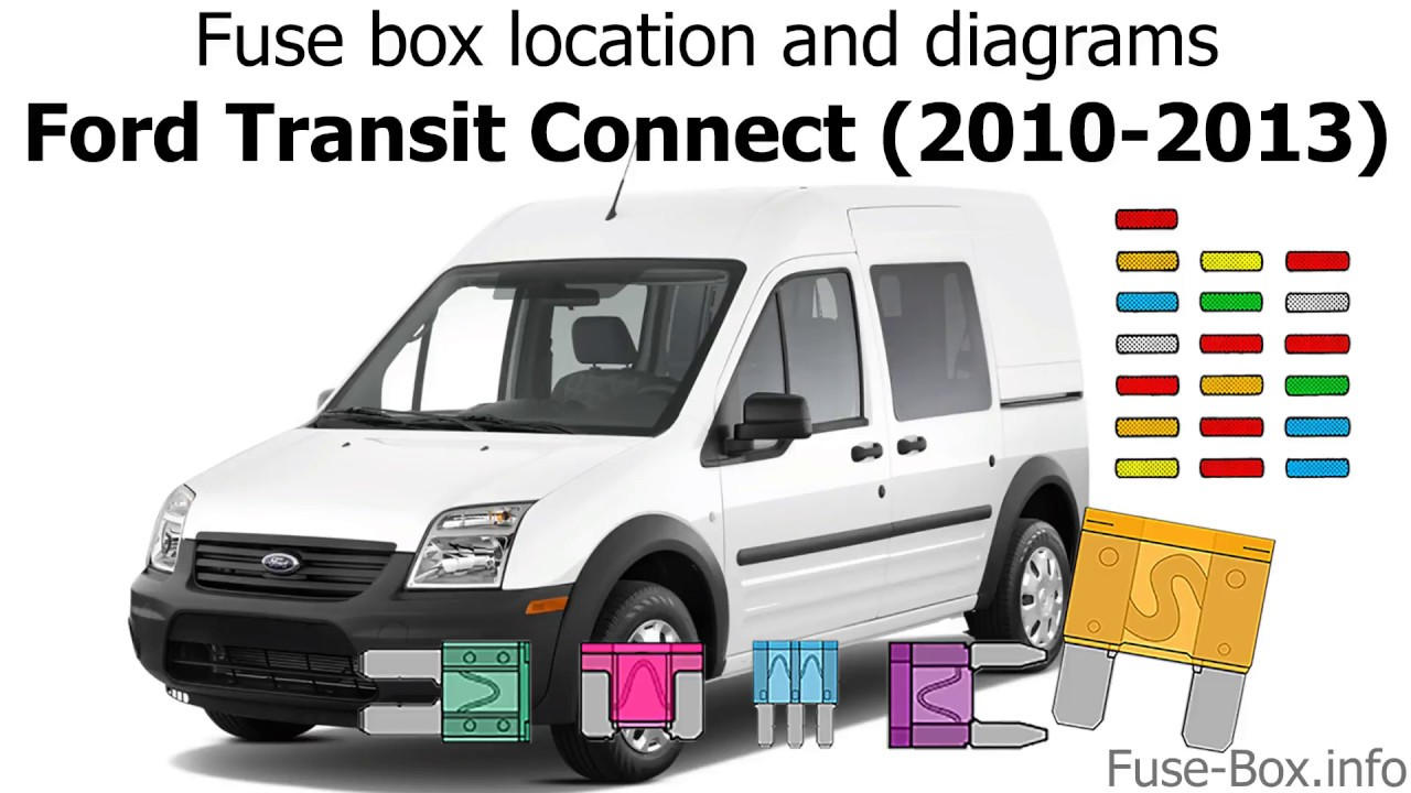 fuse box location and diagrams: ford transit connect (2010-2013)