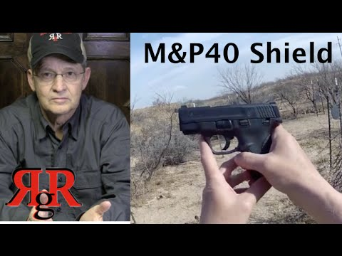 M&P40 Shield Review - (with M&P40c)