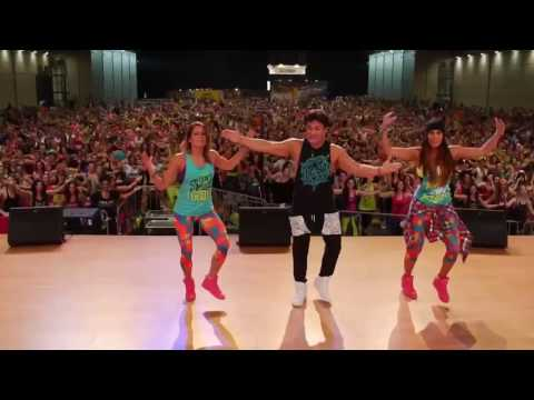 "Official Zumba Choreography to Shakira and Carlos Vives ""La Bicicleta"""