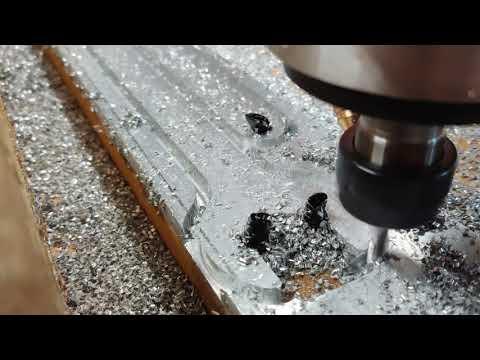 AVIDCNC Cutting Aluminum. Part2