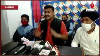 No merger of AJKPC with any political party : Anil Sharma