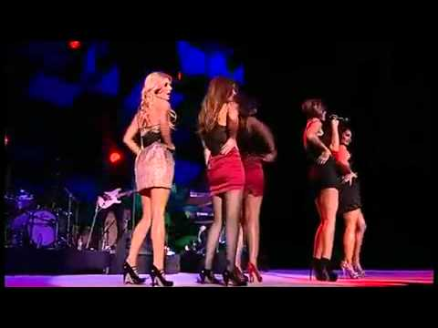 The Saturdays feat. Flo Rida - Higher - Jingle Bell Ball (5th December 2010)