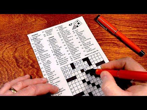Crossword Puzzle - Sleepy ASMR
