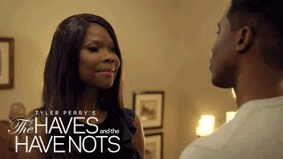Jeffery Pushes Veronica over the Edge | Tyler Perry's The Haves and the Have Nots | OWN