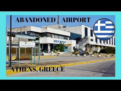 GREECE, the abandoned ATHENS INTERNATIONAL AIRPORT (Hellinikon), a sentimental tour