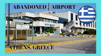 Greece: The abandoned Athens International Airport ✈️, a very sentimental tour - let's go!