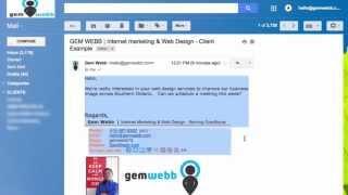GMAİL, Google TAKVİM Davet Oluşturmak için nasıl