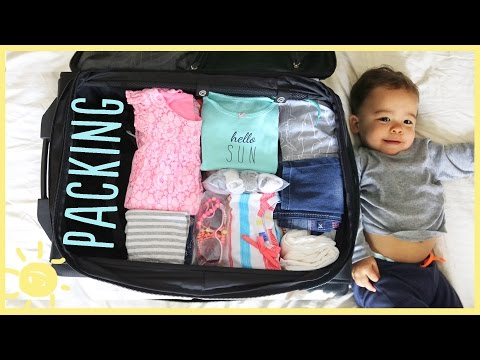TIPS   PACKING FOR KIDS!