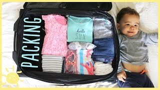 TIPS | PACKING FOR KIDS!