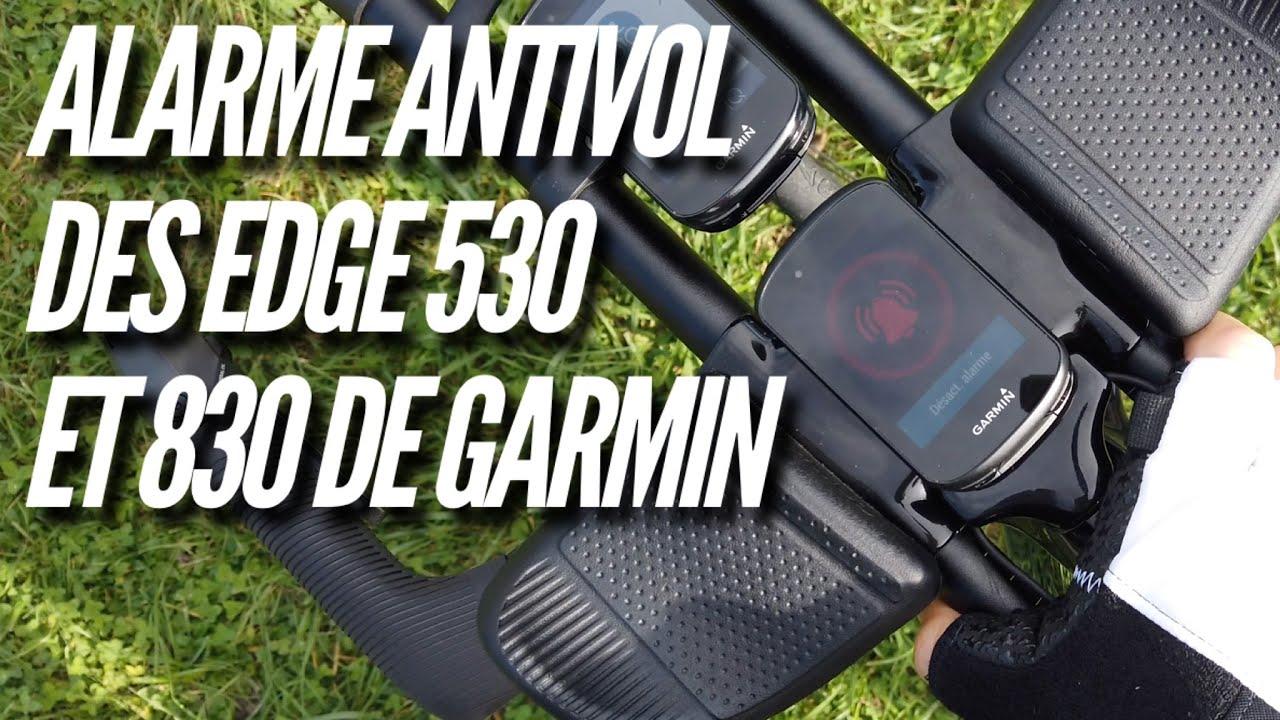 foto de Garmin Edge 530 et 830: L'alarme antivol - YouTube