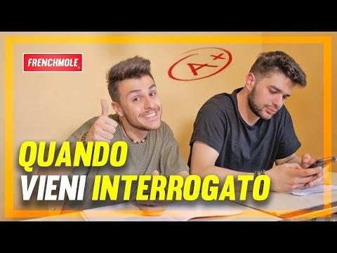 TIPI DA INTERROGAZIONE 2 - QUANDO VIENI INTERROGATO