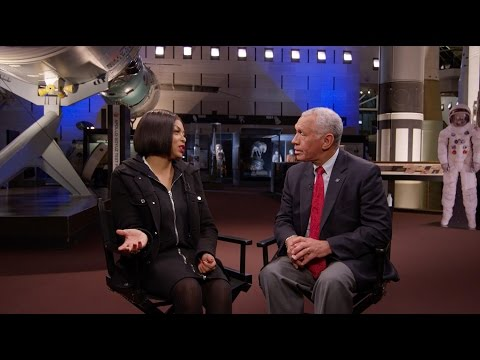 Taraji P Henson and Charles Bolden Interview