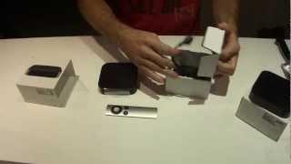 Yeni Apple TV kutu açılımı, incelemesi ve eski Apple TV ile kıyaslaması.