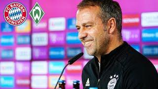🎙️ FC Bayern Pressetalk mit Hansi Flick vor dem Spiel gegen Werder Bremen