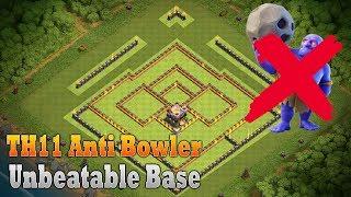 COC Th11 Defense Base | ANTI BOWLER/Witch base | Unbeatable Th11 base | Th11 Defense base