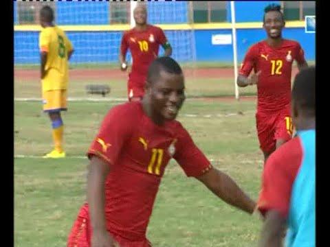 RWANDA 0 - 1 GHANA (AFCON 2017 QUALIFIERS)