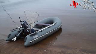 Ловля с лодки балансиром и отводным поводком с использованием подлёдной камеры и эхолота практик