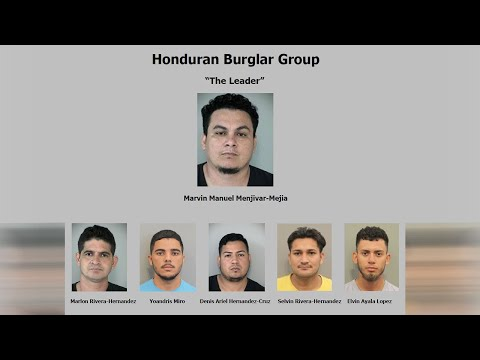 Michael Berry - Six Illegals Immigrants Arrested For Burglary Ring In Fort Bend County