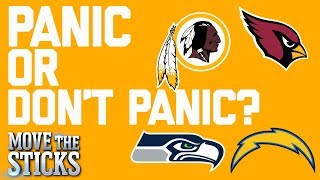Which 0-1 Teams Should Hit the Panic Button? | Move the Sticks | NFL