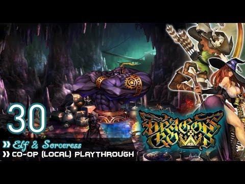 Dragon's Crown - Pt.30「Elf & Sorceress ~ Local Co-op」
