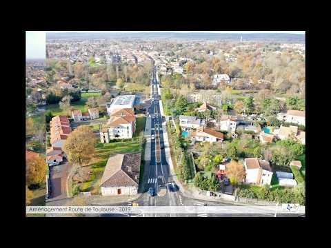 Aménagement de la route de Toulouse à Léguevin