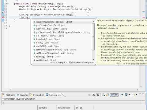 Java and XML Training - JAXB Tutorial | How to Use XML Binding for Java Using Eclipse