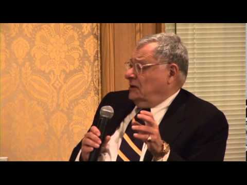 Stephen Joel Trachtenberg on Jews in Higher Education - YouTube