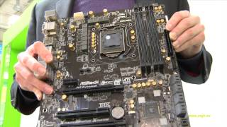 Asrock Extreme 6: Z87 for Haswell - Cebit [PCGH]