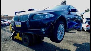 2012 BMW 535xi. Автомобили до 5000$ со страховых аукционов США.