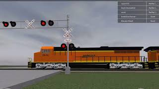 ROBLOX Railfanning Pictures (Includes The Stations, Locomotives And Cars With 3 Crossings)