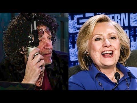 Hillary Clinton Spews Bernie Lies On Howard Stern Show