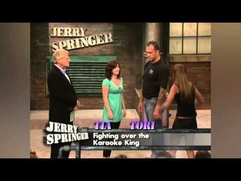 I Won't Let Go of The Karaoke King! // Jerry Springer
