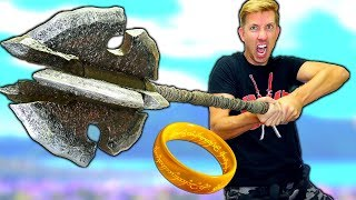 5 LORD OF THE RINGS WEAPONS in REAL LIFE
