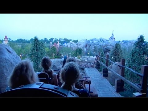 Seven Dwarfs Mine Train Full Ride POV and Queue Magic Kingdom Walt Disney World