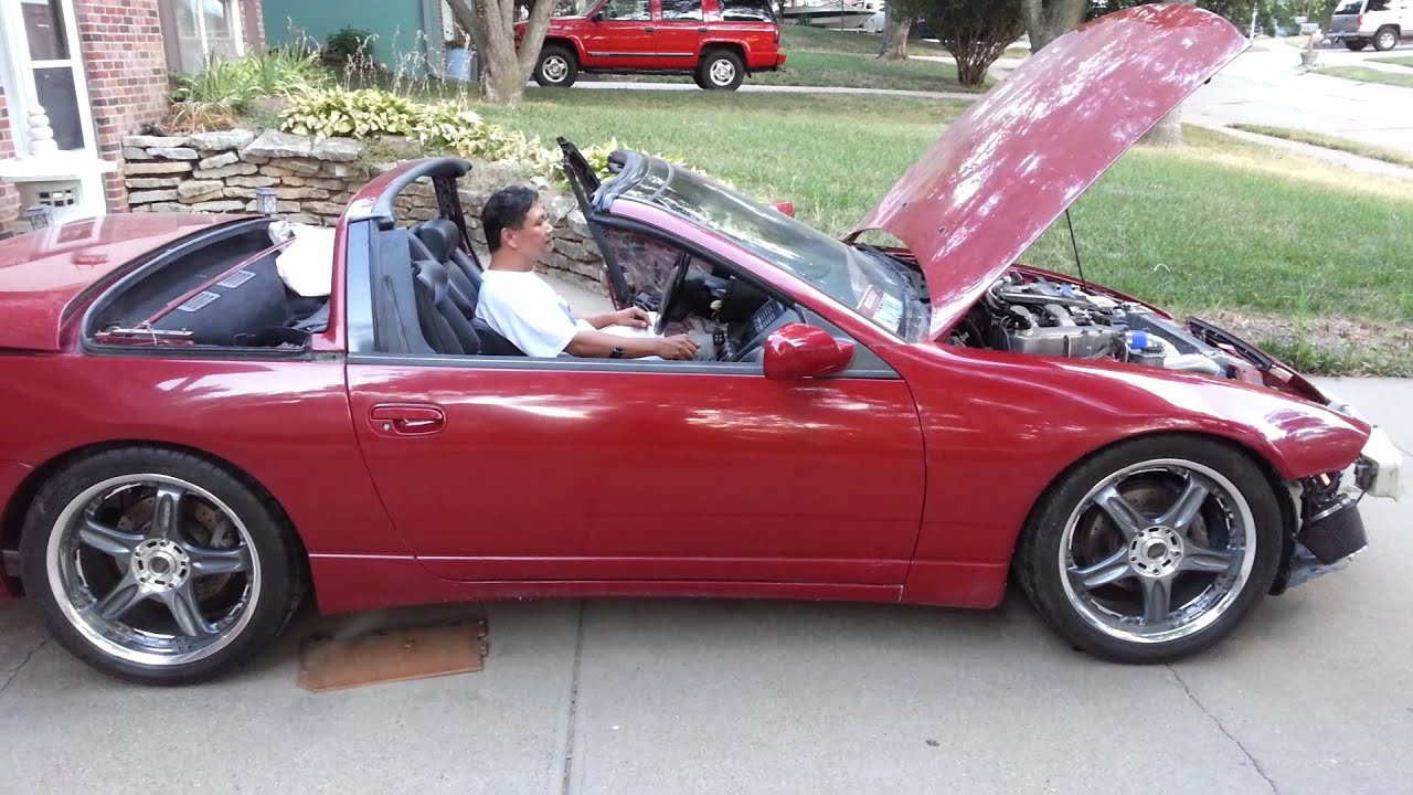 300zx Twin Turbo Convertible First Start Up