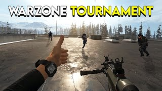 Competing in a Warzone Tournament!