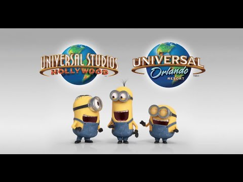Despicable Me Minion Mayhem Ride Movie Commercial