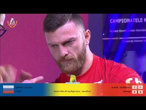 SENIOR MEN 85 KG RIGHT HAND FULL CLASS (World Armwrestling Championship 2019)