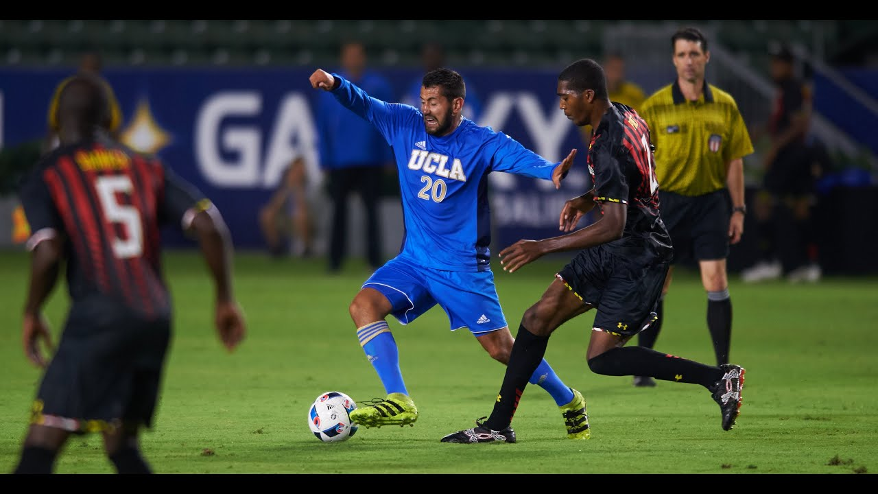UCLA M. Soccer vs. Maryland Highlights - YouTube
