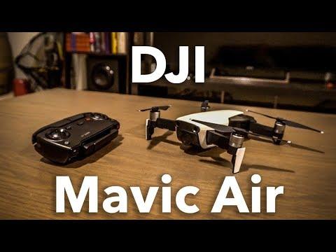 Mavic Air - Crash Test, Sample Footage, and Review