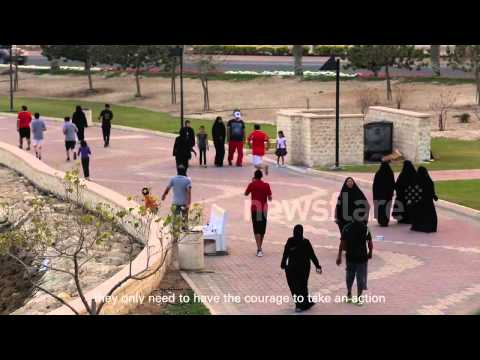 Litter dropping experiment in Bahrain