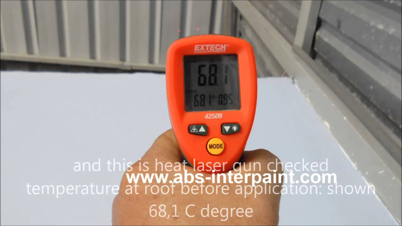 intek heat insulation paint, intek reflective paint, intek - youtube