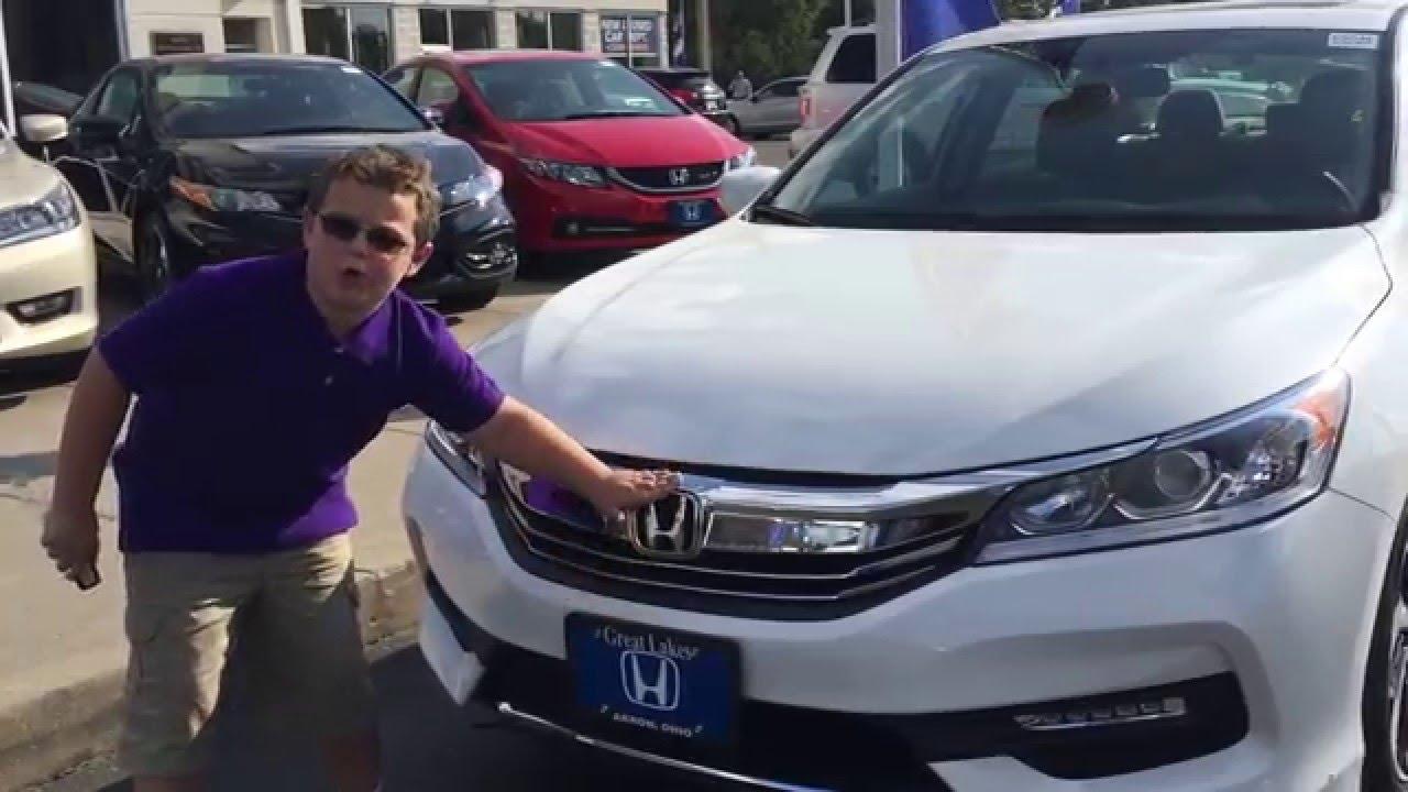 2016 Honda Accord Ex L Youtube